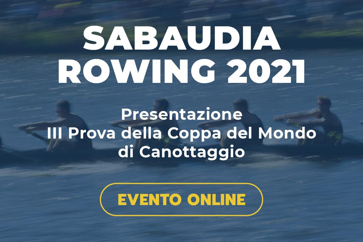 World Rowing Cup Sabaudia Rowing presentazione evento
